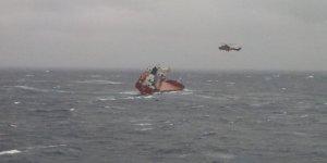 Ege'de yük gemisinden acil durum çağrısı