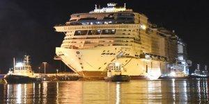 MSC Virtuosa gemisi su ile buluştu