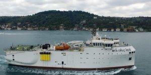 Oruç Reis için takip gemisi hizmeti