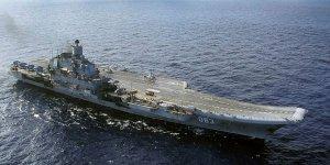 Rus uçak gemisinde yangın: 1 ölü 12 yaralı