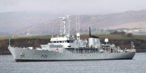 BAE Hafter'e savaş gemisi (mi) sattı