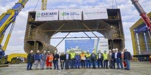 Cemre'den DEME'ye rüzgar türbini destek gemisi