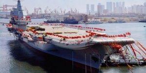 Çin'in ilk yerli uçak gemisi hizmete girdi!