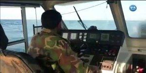 Türk mürettebatın bulunduğu gemiye müdahale