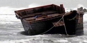 Hayalet tekne içinde cesetler