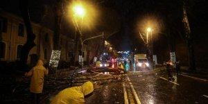 Fırtına İstanbul'u karıştırdı