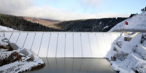 Akçay Barajı'nda su seviyesi yükseldi