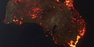Avusturalya'daki yangında son durum korkutucu… NASA yangının uzaydaki görüntüsünü paylaştı.