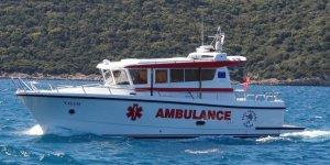 Ambulans 'Yaşam'a'  Bodrum Kruvaziyer Limanı sponsor oldu