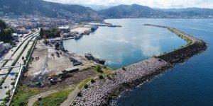 Giresun limanından 58 bin ton yükleme yapıldı