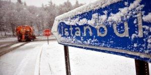 Beklenen kar sonunda geldi