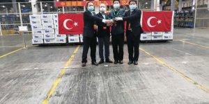 TİM, Çin'e tıbbi malzeme gönderdi