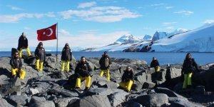 Türkler Antarktika'ya ayakbastı