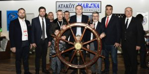 İMEAK DTO Başkanı Tamer Kıran'dan , CNR Avrasya Boat Show'a ziyaret