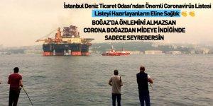 İMEAK, Limanlarda ve Türk Boğazlarında sağlık kontrol önlemlerini paylaştı