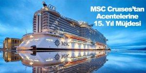 MSC Cruıses'tan Acentelerine 15. Yıl Müjdesi