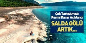 Resmi Açıklama Geldi! Salda Gölü Tesisleri Kuruluyor