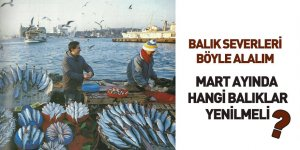 Mart Ayında Hangi Balıklar Tüketilmeli?