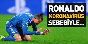 Cristiano Ronaldo'ya Koronavirüs Şoku!