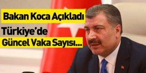 Sağlık Bakanı Güncel Koronavirüs Vaka Sayısını Açıkladı
