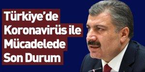 Türkiye'de Koronavirüs ile Mücadelede Son Durum