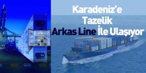 Karadeniz'e Tazelik Arkas Line İle Ulaşıyor