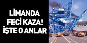 Busa News Konteyner Terminalinde Korkunç Kaza!