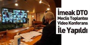 İMEAK Deniz Ticaret Odası Meclis Toplantısı Video Konferans İle Yapıldı