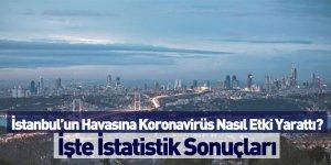 İstanbul'un Havasına Koronavirüs Nasıl Etki Yarattı?