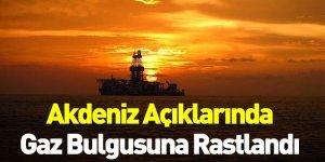 Akdeniz Açıklarında Gaz Bulgusuna Rastlandı