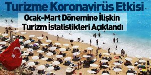 Ocak-Mart Dönemine İlişkin Turizm İstatistikler Açıklandı