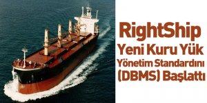 RightShip Yeni Kuru Yük Yönetim Standardını (DBMS) Başlattı