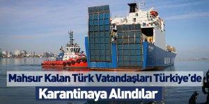 Mahsur Kalan Türk Vatandaşları Türkiye'de