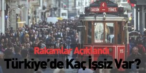 Rakamlar Açıklandı, Türkiye'de Kaç İşsiz Var?