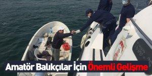 Amatör Balıkçılar İçin Önemli Haber