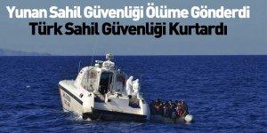 Türk Sahil Güvenliği 77 Mülteciyi Kurtardı