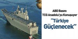 ABD Basını TCG Anadolu'yu Konuşuyor