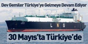 Dev Gemiler Türkiye'ye Gelmeye Devam Ediyor