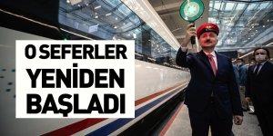 Hızlı Tren Seferleri Yeniden Başladı