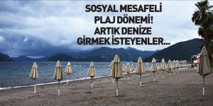 Deniz Turizminde Sosyal Mesafeli Plaj Dönemi