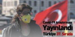 Covid-19 Araştırması Yayınlandı, Türkiye 37. Sırada