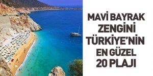 Türkiye'nin en güzel 20 plajı