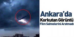 Ankara'da Korkutan Görüntü Film Sahnelerini Aratmadı