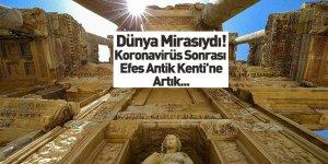 Efes Antik Kenti'ne Koronavirüs Düzenlemesi