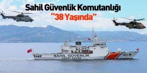Sahil Güvenlik Komutanlığı 38 Yaşında