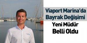 Viaport Marina'da Bayrak Değişimi