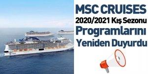 MSC CRUISES 2020/2021 Kış Sezonu Programlarını Yeniden Duyurdu