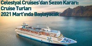 Celestyal Cruises'dan Sezon Kararı