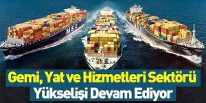Gemi, Yat Ve Hizmetleri Sektörü Yükselişi Devam Ediyor
