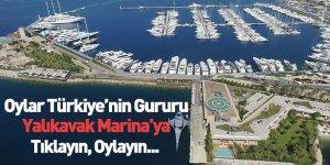 Oylar Türkiye'nin Gururu Yalıkavak Marina'ya